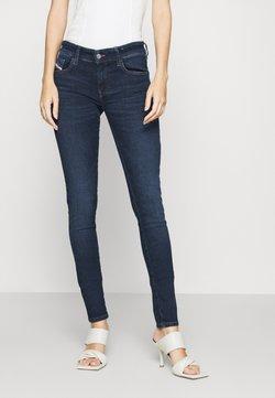 Diesel - SLANDY LOW - Jeans Skinny Fit - indigo