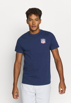Fanatics - NFL TRUE CLASSICS SHIELD  - T-shirt print - navy