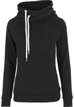 Urban Classics - RAGLAN HIGH NECK  - Jersey con capucha - black