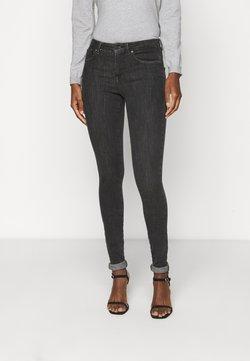 ONLY Tall - ONLPOWER PUSH UP  - Jeans Skinny Fit - dark grey denim