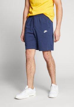 Nike Sportswear - CLUB - Shortsit - midnight navy/white