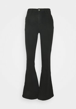 ONLY - ONLHELLA LIFE RETRO - Jeans a zampa - black