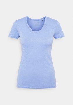 Marc O'Polo - TWISTED DEEP - T-Shirt basic - washed cornflower
