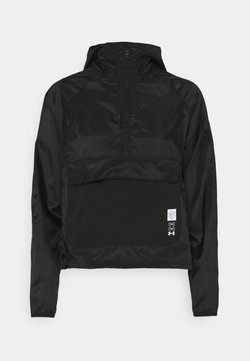 Under Armour - RUN ANYWHERE ANORAK - Laufjacke - black