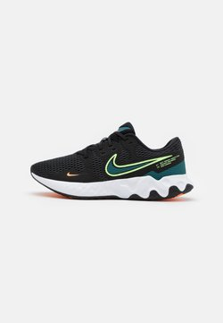 Nike Performance - RENEW RIDE 2 - Zapatillas de running neutras - black/lime glow/dark teal green/white