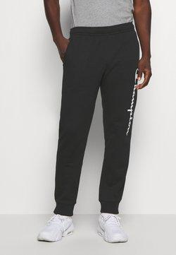 Champion - LEGACY CUFF PANTS - Jogginghose - black