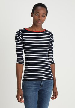 TOM TAILOR - STRIPE - Langarmshirt - navy