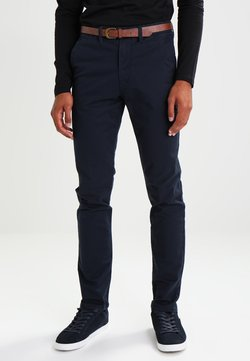 Jack & Jones - JJICODY JJSPENCER - Chinos - navy blazer