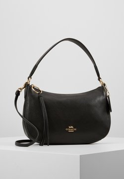 Coach - PEBBLE SUTTON CROSSBODY - Torebka - black