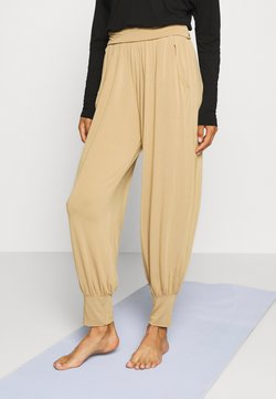 Deha - PANTS - Tracksuit bottoms - beige