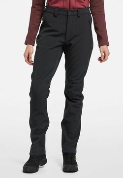 Haglöfs - CLAY PANT - Kangashousut - true black