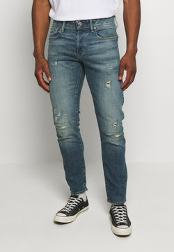 G-Star - 3301 SLIM C - Jean slim - blue denim