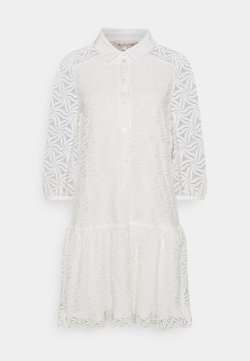 Esqualo - DRESS POPLIN COLLAR CUFF - Paitamekko - off white