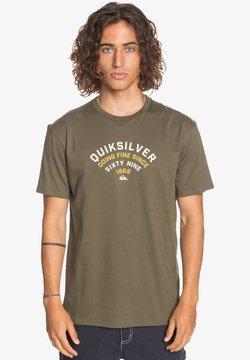 Quiksilver - UP TO NOW - T-shirt print - kalamata