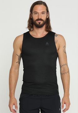 ODLO - CREW NECK SINGLET ACTIVE LIGHT - Camiseta interior - schwarz