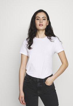 American Vintage - VEGIFLOWER - T-shirt basique - blanc