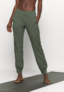 Sweaty Betty - GARY YOGA TROUSER - Pantalones deportivos - olive