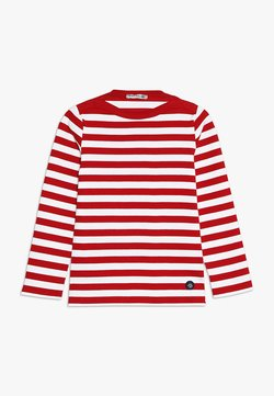 Armor lux - MARINIÈRE TRÉGUNC KIDS - Long sleeved top - braise/blanc