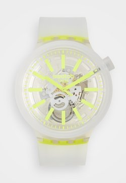 Swatch - YELLOWINJELLY - Montre - transparent/yellow