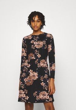 ONLY - ONLELCOS EMMA ELASTIC DRESS - Neulemekko - black