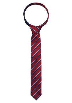 Tommy Hilfiger - STRIPE TIE - Krawatte - red