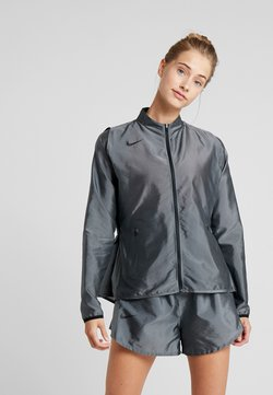 Nike Performance - AIR - Laufjacke - pure platinum/black