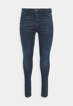 ONLY Carmakoma - CARLAOLA LIFE - Jeansy Skinny Fit - dark blue denim