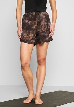 Filippa K - TIEDYE TRACK SHORTS - Pantalón corto de deporte - multicolor