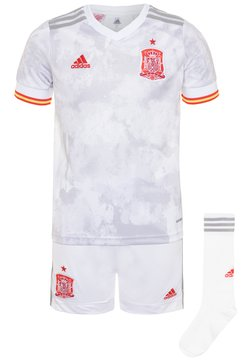 adidas Performance - FEF SPANIEN A YOUTH - Pantalón corto de deporte - white/light onix