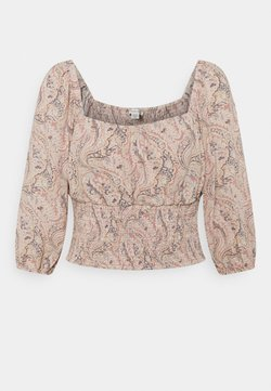 American Eagle - RUCHED FRONT - Camicetta - multicoloured
