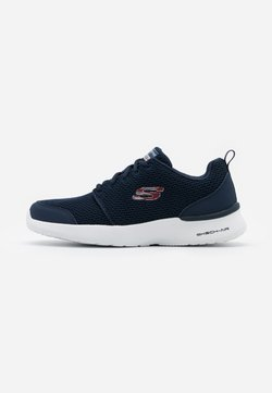 Skechers Sport - SKECH-AIR DYNAMIGHT - Sneaker low - navy/red