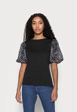 River Island Petite - T-Shirt print - black