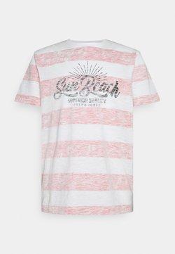 Jack & Jones - JJRESORT TEE CREW NECK - T-Shirt print - true red