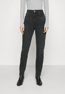 Gina Tricot - TOVE ORIGINAL - Slim fit -farkut - washed black