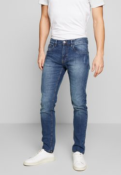 INDICODE JEANS - TONY - Jeans Slim Fit - mid indigo