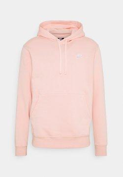Nike Sportswear - CLUB HOODIE - Hoodie - arctic orange/white
