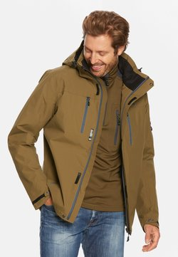 Jeff Green - HARSTAD - Outdoorjacke - dark olive