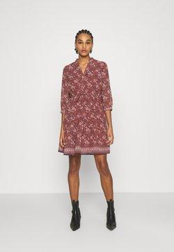 Vero Moda - VMBELLA DRESS - Freizeitkleid - marsala/bella
