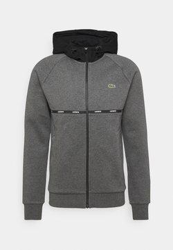 Lacoste Sport - veste en sweat zippée - pitch chine/black/white