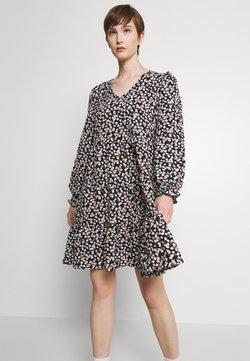 Vero Moda - VMSALINA DRESS - Vapaa-ajan mekko - black/salina