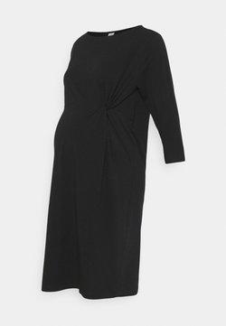 Mamalicious Curve - MLSIA DRESS - Vestido ligero - black