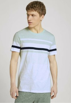 TOM TAILOR DENIM - T-Shirt print - smooth green