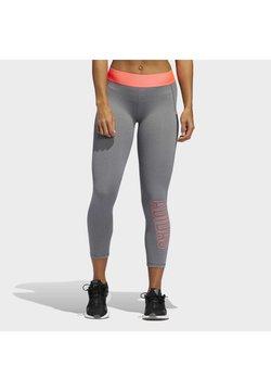 adidas Performance - ALPHASKIN 7/8 LEGGINGS - Tights - grey