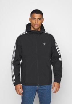 adidas Originals - 3D TREFOIL  UNISEX - Lett jakke - black/white