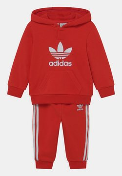 adidas Originals - HOODIE SET UNISEX - Chándal - red/white