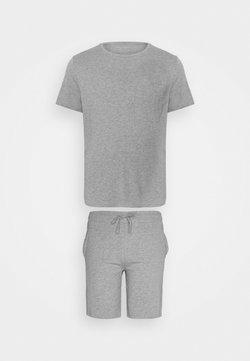 Pier One - SET - Pyjama - mottled grey