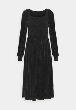 YAS - YASBLAKY MIDI DRESS - Cocktailkleid/festliches Kleid - black