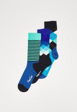 Happy Socks - CLASSICS 3 PACK UNISEX - Socken - multi blues
