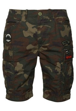 Superdry - PARACHUTE - Shorts - olive green
