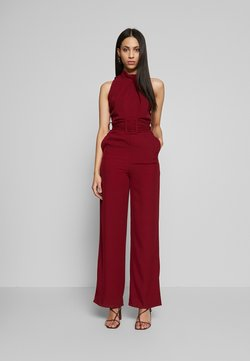 WAL G TALL - HIGH NECK BELTED - Combinaison - burgundy